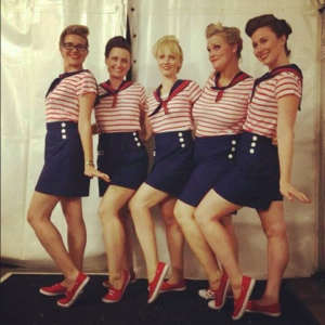 All dolled up and ready to hit the streets in our brand new get-ups!