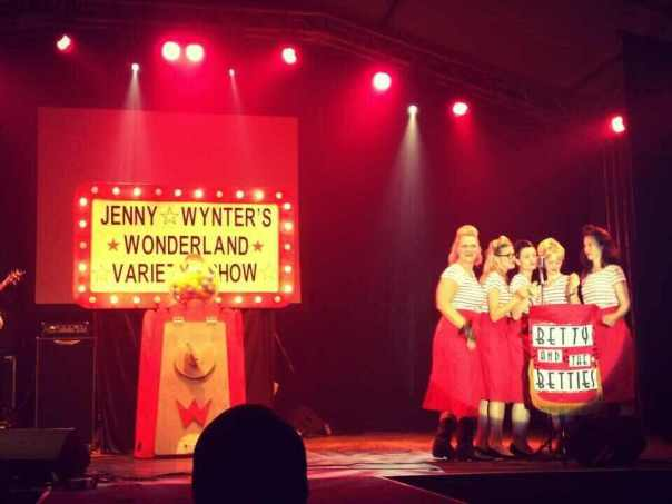 Betty and the Betties in Wonderland!